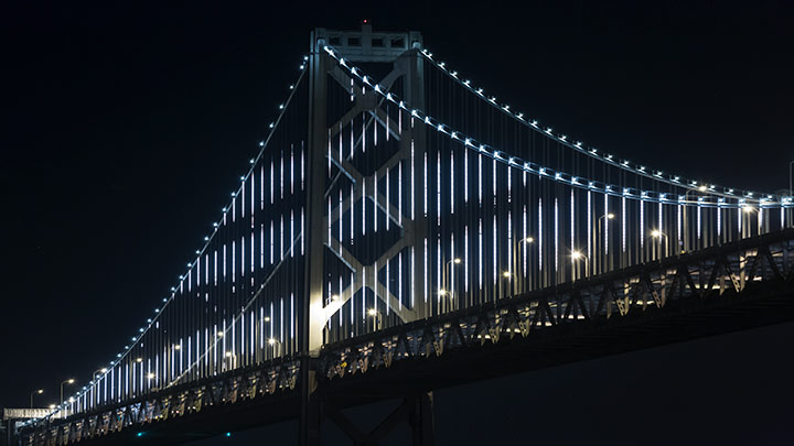 Bay Lights – San Francisco Bay Bridge
